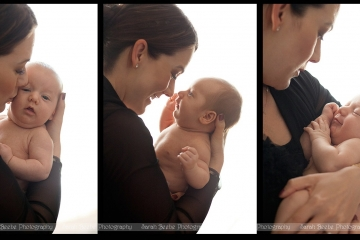Handsome Baby A Visits our Studio for his Second Newborn Shoot