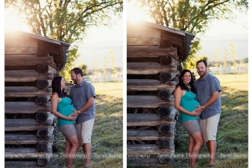 Beautiful & Proud Parents-To-Be Look so Lovely in Kelowna's Setting Sun