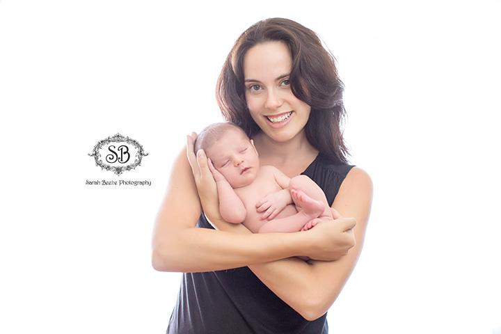 Beautiful Family And Brand New Baby Boy In Kelowna Studio Summer 2015 Sarah Beebe Photography