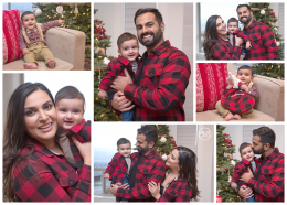 Cute In Home Holiday Family Session